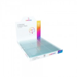 GG: Ultrasonic 9-Pocket Toploading Pages DISPLAY - Clear