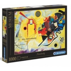 Puzzle Museo 1000 – Kandinsky- Yellow-Blue-Red